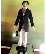 The Franklin Mint - Rhett Butler in Navy Suit Coat Doll Gone With the Wind - $250.00