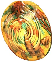 """New Oval Bowl Art Glass Italian Made In  Italy 13"""" - $49.49"""