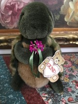 Gund WHIZ Turtle 1987 All Tags 8 inch Includes Paper Tag Item 6150 - $86.85
