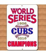 Chicago Illinois CUBS MLB Baseball World Series Champions Mancave Bar Si... - $15.83