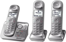 cordless handset, Dect_6.0 Silver And White panasonic cordless handsets - $147.99