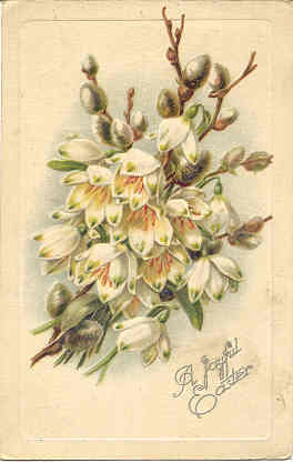 A Joyful Easter Vintage 1921 Post Card