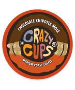 Crazy Cups Chocolate Chipotle Mole Coffee 22 to 88 Keurig K cups Pick An... - $22.99
