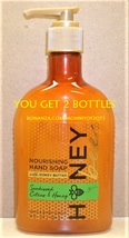 Bath Body Works SUNKISSED CITRUS HONEY Nourishing Hand Soap Honey Butter... - $16.00