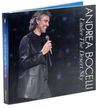 UNDER THE DESERT SKY (CD & DVD) by Andrea Bocelli