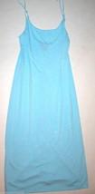 NWT New Designer Natori Night Gown White XS Heather Blue Light Womens Ad... - $71.50