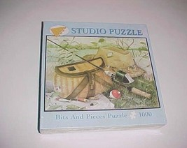 Ready For Fishing Amy Rosenberg 2007 Bits and Pieces 1000 Studio Puzzle New NIB - $34.64