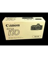 NEW Canon T70 film Camera Body &  Canon 50mm 1:1.8 Lens - $180.37