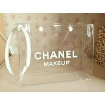 Chanel clear makeup bag- FLASH SALE - $19.99