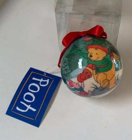 Winnie pooh christmas ornament2