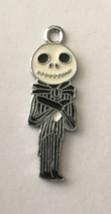 "Jack Skellington Body  Necklace Pendant .75""Wx.5""H Nightmare Before Christmas - $4.28"