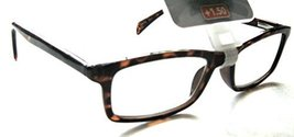 "Foster Grant ""John"" Tortoise Brown Reading Glasses +2.00 - $19.99"