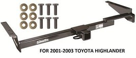 "2001-2003 Toyota Highlander Trailer Hitch 2"" Tow Receiver Drawtite Class Iii New - $183.04"