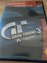 Sony PS2 Gran Turismo 3 A-Spec (no manual) image 1