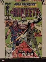 Solo Avengers Hawkeye and the Wasp # 15 (1989 Marvel) - $0.73