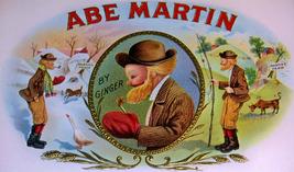 Abe Martin Embossed Inner Cigar Label, 1910's - $4.95