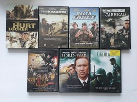 WAR MOVIE LOT OF 7 THE HURT LOCKER THE KINGDOM DELTA FORCE JARHEAD SPIRI... - $7.91