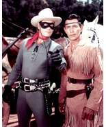Clayton Moore The Lone Ranger And Tonto 8x10 - $12.00