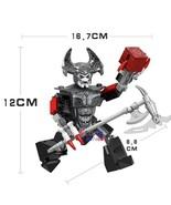 Usiness rhino steppenwolf woderwoman war ares thanos figures model building block toys thumbtall