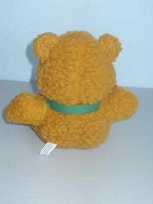 Vintage 1987 The Muppets Baby Fozzy Bear Stuffed Toy
