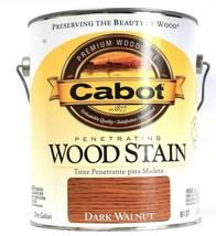 Cabot Premium Woodcare Penetrating Wood Stain Fade Resist Dark Walnut 1 ... - $24.99