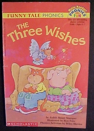 The three wishes hello reader phonics  gr
