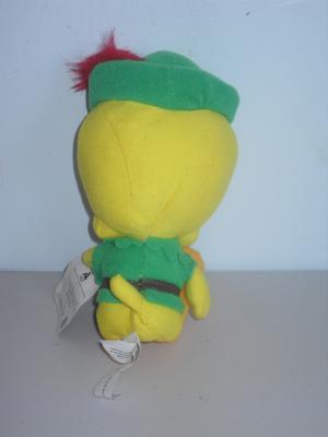 1997 Looney Tunes Tweety Bird As Robin Hood Stuffed Toy
