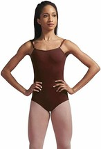 Capezio Camisole Leotard with Adjustable Straps, Dark Brown NWT - $21.12