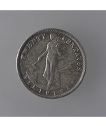 U.S. Philippines 20 Cents Silver Coin SET: 1938... - $17.92