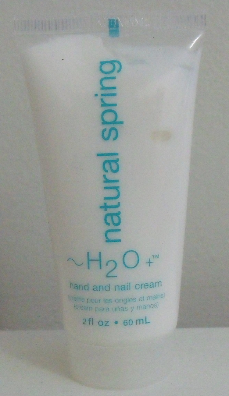 H2O Plus New Natural Spring Hand and Nail Cream 2 oz h20 plus
