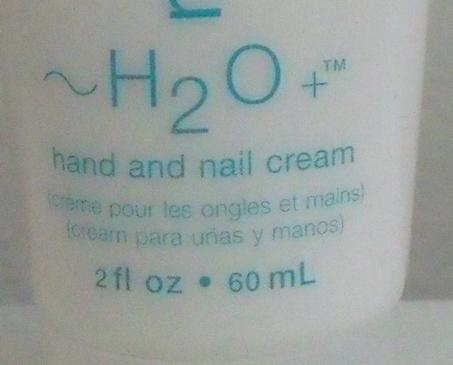 H2O Plus New Natural Spring Hand and Nail Cream 2 oz