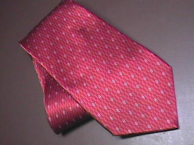 Tie murano shiny bright red 01