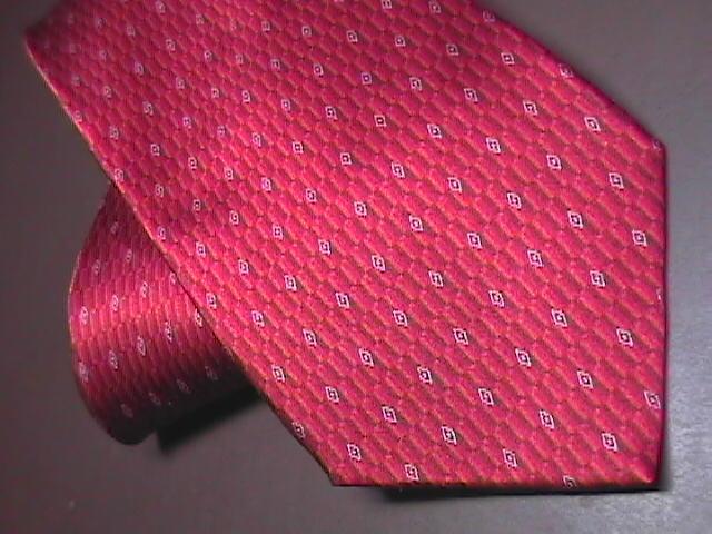 Murano Silk Mens Dress Neck Tie Bright Red