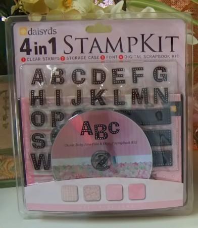 Stamp kit girl