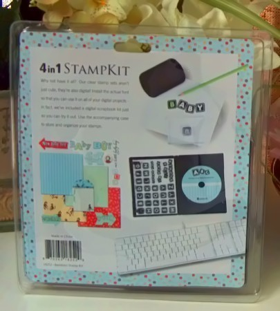 Daisy D's 4 in 1 Scrapbook Stamp Kit for Boy