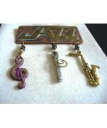Stefano Velaska Jazz Pin - $36.00