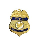Cosplay CTU Special Agent Badge Counter Terrorist Unit Officer Badge  - $13.95