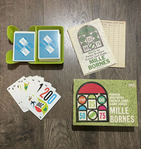 Parker Brothers Mille Bornes French Card Game Racing 1964 Vintage COMPLETE - $19.51