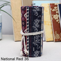 National Embroidery Pencils Pouch Bag 36/48/72 Holes Roll Brush Case car... - $25.85 CAD