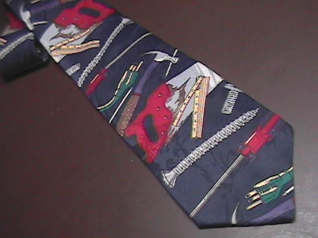 Home Improvement Mens Dress Neck Tie Titled Tool Time Touchstone Pictures