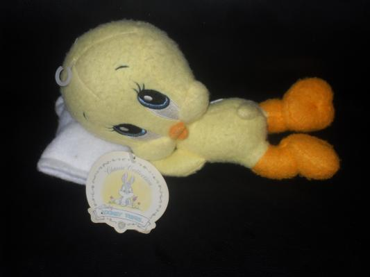 1997 Baby Looney Tunes Tweety Bird Stuffed Toy