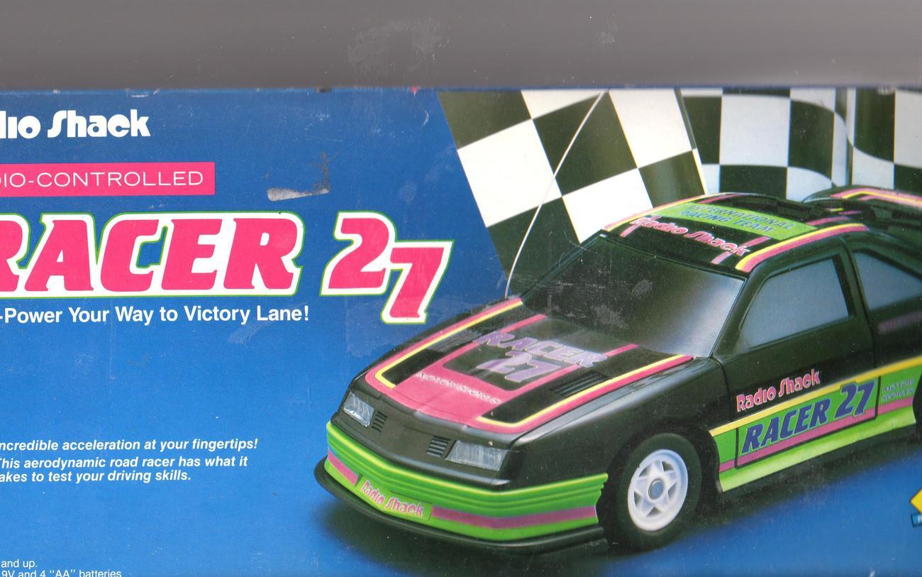 Radio Shack Remote Contro Car Racer 27