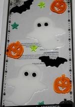 Halloween   **GHOSTS, PUMPKINS, & BATS**   Gel Clings    NIP - $3.75