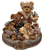 """Boyds Bears """"Gary, Tina, Matt & Bailey..From Our Home to Yours,"""" #227804 - $55.00"""