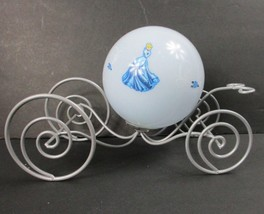 Disney Cinderella Princess Carriage Coach Night Light Lamp Metal Plastic - $16.82