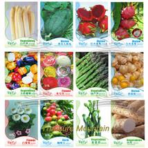 12 Original Packs, White Asparagus Seeds Watermelon Pitaya Bell Pepper F... - $17.74