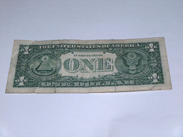 2013 $1 Dollar Bill US Bank Note High# Pairs Set 8 9 89909888 Fancy Money Serial image 2