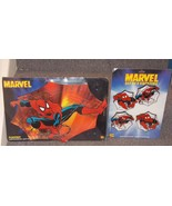 1999 Spider Man Hard Placemat & Set of 4 Coasters New In The Packages - $99.99