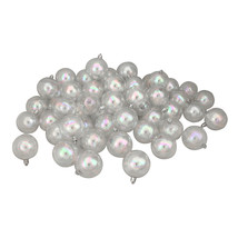 60ct Clear Iridescent Shatterproof Shiny Christmas Ball Ornaments 2.5 (6... - $77.95