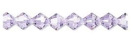 6mm Alexandrite Crystal Swarovski Xilion Beads 5328 ( 72 )  lt purple blue - $12.00